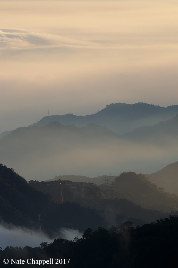 Fog and Mountains, Taiwan